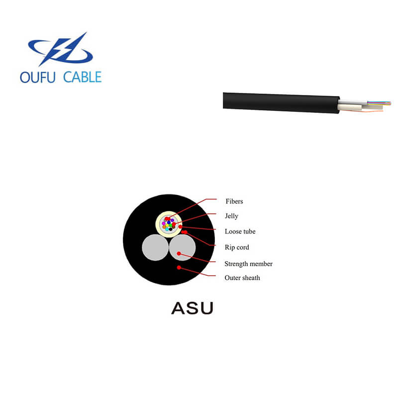 Self-supported dielectric optical cables, suitable to spans up to 80 meters for urban transport networks or access networks